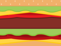 Burger Wallpaper