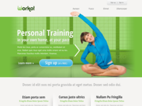 Personal Training Website