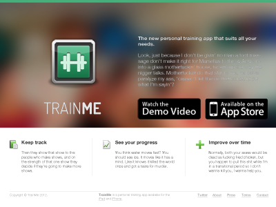 Trainme-landing-site-preview-dribbble