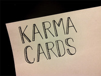 Karma Cards Sketch