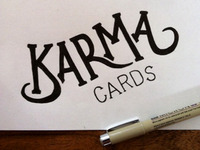 Karma Cards Sketch 2