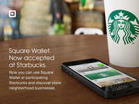 Square Wallet - Now accepted at Starbucks