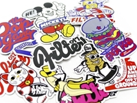 Filter017 ORIGINAL POP STICKER SET