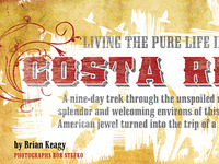 Costa Rica Feature Typestyle