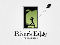 River's Edge Pediatrics Logo: Spring
