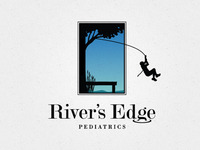 River's Edge Pediatrics Logo: Summer