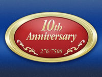 10th Anniversary Mazda Miata Badge Icon