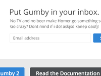 Put Gumby in your inbox