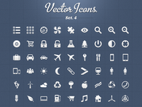 Vector Icons Set 4