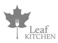 Draft Logo for Leaf Kitchen