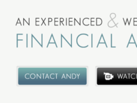 Website design for Financial Adviser
