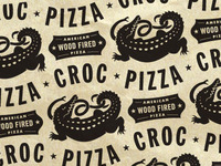 Croc Pizza (kitchen tissue)