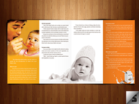 Babies First Food - Trifold Brochure