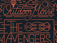 Outdoor Movie Poster