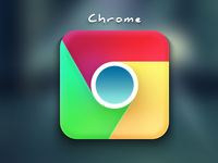 Chrome iOS Icon ...