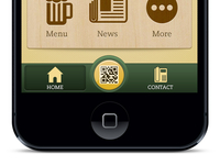 Irish Tavern iPhone App Design