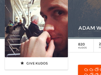 Give Kudos / Profile