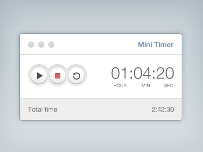 Download Mini Timer Freebie