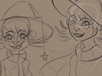 Switch Witch Sketches