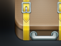 Suitcase iPhone App Icon #WIP