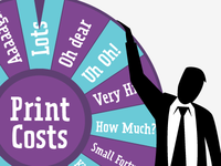Print Costs Wheel of Fortune