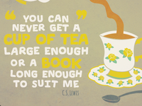 Tea Print - Colour Option 1