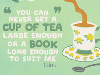 Tea Print - Colour Option 2