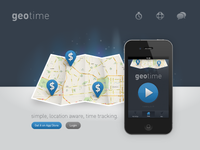 geotime website design