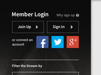 Even Simpler Login/Sign Up
