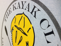 The Kayak Club - Screen Print