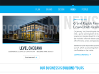 Design/Build Firm Home Page WIP