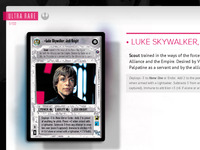 Luke Skywalker, Jedi Knight | Star Wars CCG WIP