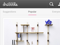 Dribbble for Android - Details