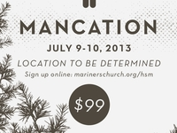 mancation save the date