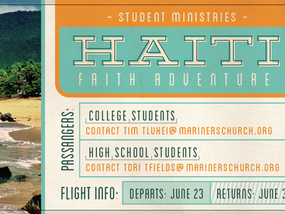 Haiti Faith Adventure Promo