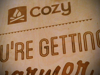 Cozy Warmer Sign