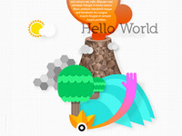 Hello World (Illustration)