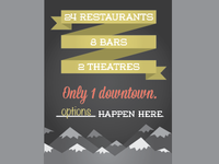 Downtown GJ Poster