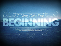 A New, Debt-Free Beginning