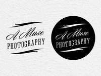 A Muse Photography Logo