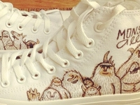 MonsterAllie Converse
