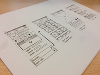 Defind Wireframe Sketches