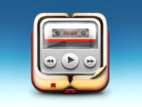 Book-on-a-tape Icon