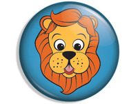 Lion Button