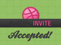 Dribbble Invite Accepted!