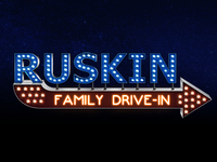 Ruskin Family Drive-In Logo Preview