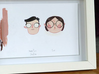 Framed Glasses Illustration