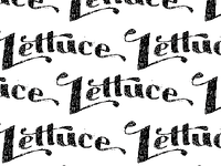 #Sketchbookproject lettuce pattern