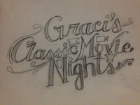 Graci's Classic Movie Nights