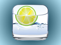 Water Glass App Icon